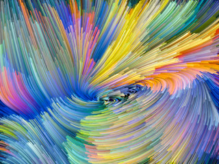 Vibrant Color Vortex
