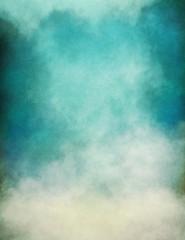 Wall Mural - Blue Green Fog