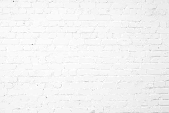 White plastered textured brick wall