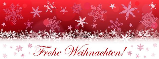 Banner. Frohe Weihnachten! (r)