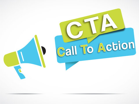 megaphone : Call To Action