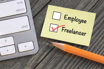 choice of working as freelancer versus employee