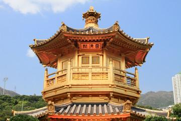 golden temple in Diamond Hill, Hong Kong
