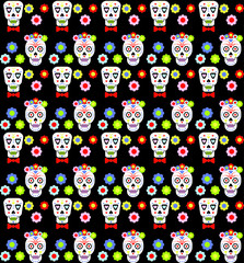 Sugar scull background