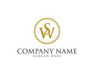 WS SW Letter Logo Icon 1