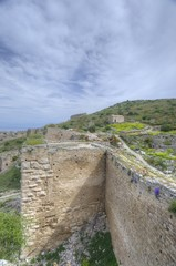 Acrocorinth in Greece
