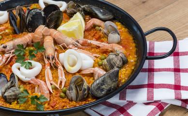 Paella,gastronomía española