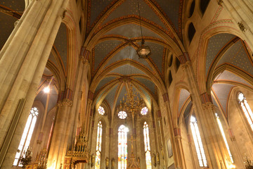 Croatia, picturesque cathedral of Zagreb