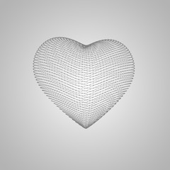 3D heart shape