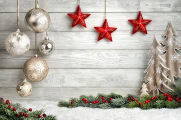 Schicker Weihnachtshintergrund