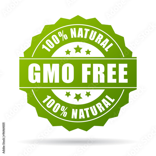 U0026quot Gmo Free Product Icon U0026quot  Stock Image And Royalty