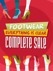 footwear for women complete sale