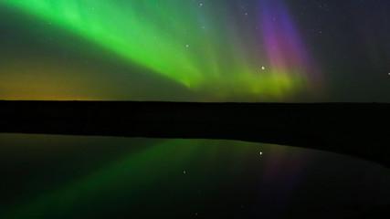 Aurora Borealis (Northern lights) in Alberta, Canada