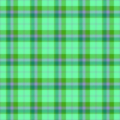 Seamless cloth background or texture / classic Scottish coloured tartan