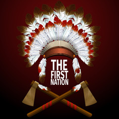 The First Nation illustration
