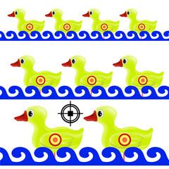 Yellow Duck Target