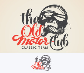 The Old motor club logo and symbol.