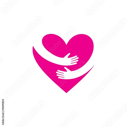 quotlove logo vector templatequot stock image and royaltyfree