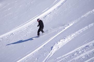 freeride en snowboard