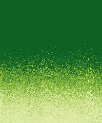 graffiti spray painted green gradient background
