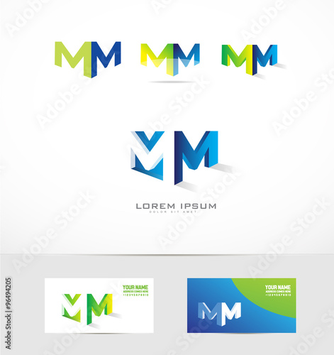 """M Logo 3d """"Letter M ..."""