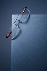 Simple and modern glasses
