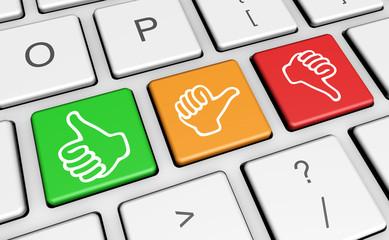 Business Quality Customer Survey Feedback Keys