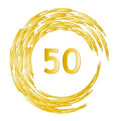 Ehrentag Geburtstag Jahrestag Jubilaum 25 Jahre Mit Goldenem