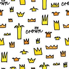Crowns patterns, background
