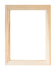 Empty picture frame.