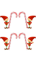 Red Elf Character