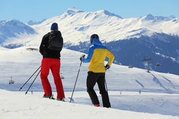 Ski-Freunde