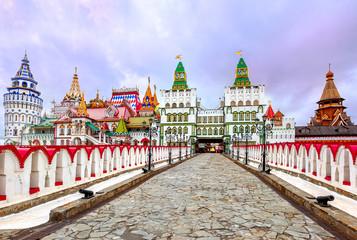 Izmailovsky Kremlin, Moscow, Russia Fototapete