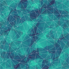 Abstract polygonal pattern background with connecting lines.