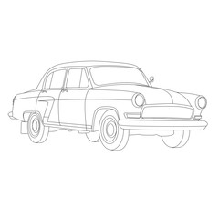 coloring pages for kids car