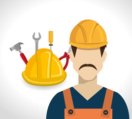 Under construction and tools