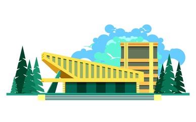 sports center building
