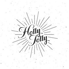 Holly Jolly Merry Christmas