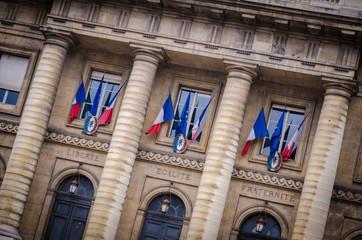 palais de justice in Paris France
