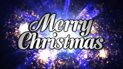 Merry Christmas Holidays Text, Illustration