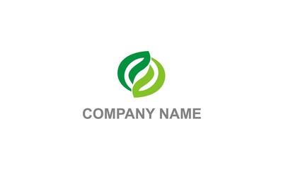 circle leaf organic company logo