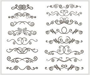 hand-drawing doodles border