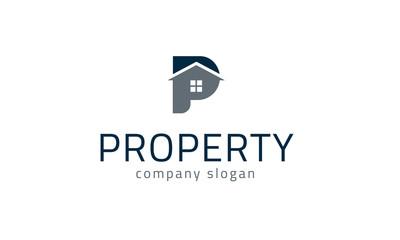 P Logo - Property