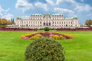 Fond de hotte en verre imprimé Vienne Belvedere Palace Vienna, Austria.
