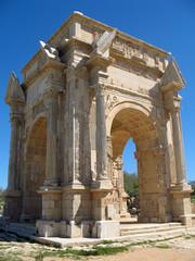 Libye, Tétrapyle de Septime Sévère à Leptis Magna