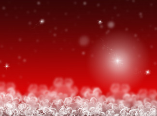 Red Christmas background. New Year background. Winter holiday