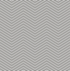 Seamless abstract striped background - embossed surface. Color gray - middle tone. 3D effect. Vector illustration.