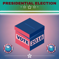 Usa Presidential Election 2016 I am voting
