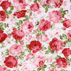 Rose Fabric background,vintage colour effect