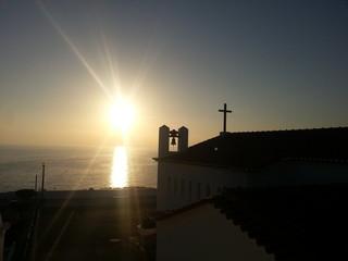 Sonnenuntergang in Carvoeiro
